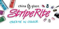 China Glaze Stripe Rite Nail Art